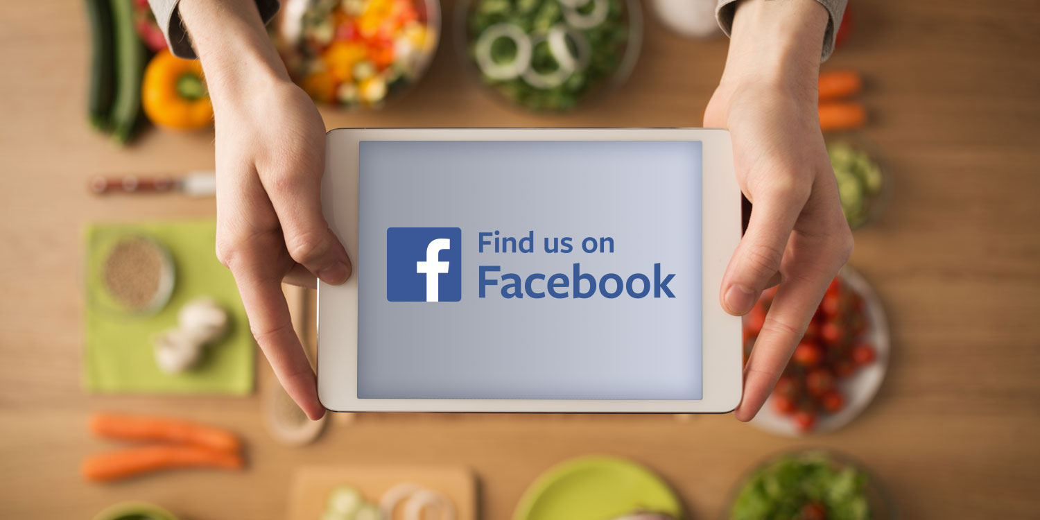 Find us on Facebook